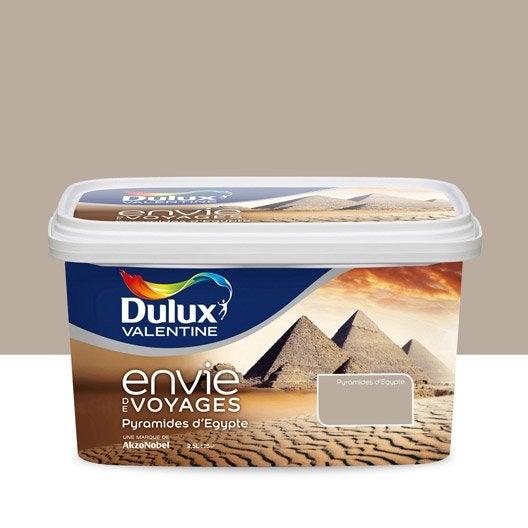 Peinture beige pyramides d 39 egypte clair dulux valentine for Lin clair dulux valentine