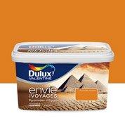 Peinture Envie de voyage DULUX VALENTINE orange pyramides Egypte expression 2.5L