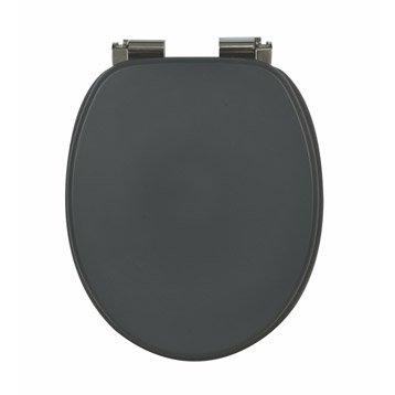 abattant wc sensea blanka gris zingu n 1. Black Bedroom Furniture Sets. Home Design Ideas
