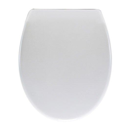 abattant pour wc et accessoires toilette wc abattant et lave mains leroy merlin. Black Bedroom Furniture Sets. Home Design Ideas