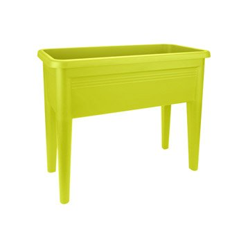 Potager Green basics table de culture xxl lime vert noir L.71.3xl.32.8xH.65.1cm