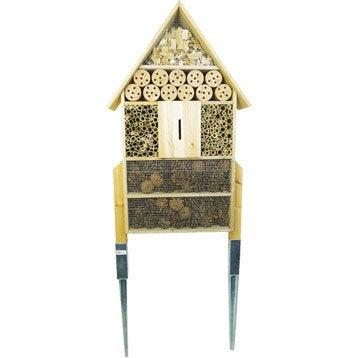 Hôtel à insectes Pfchigf130 bois