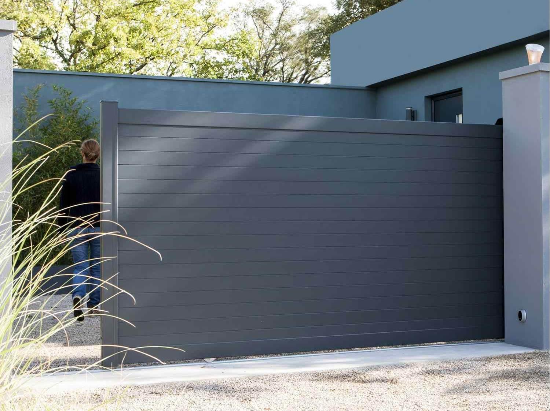 Concevoir mon portail, portillon et clôture   Leroy Merlin 8e09df7b9f65