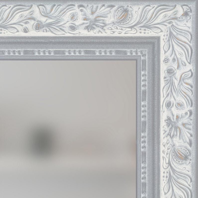 miroir louise gris x cm leroy merlin. Black Bedroom Furniture Sets. Home Design Ideas