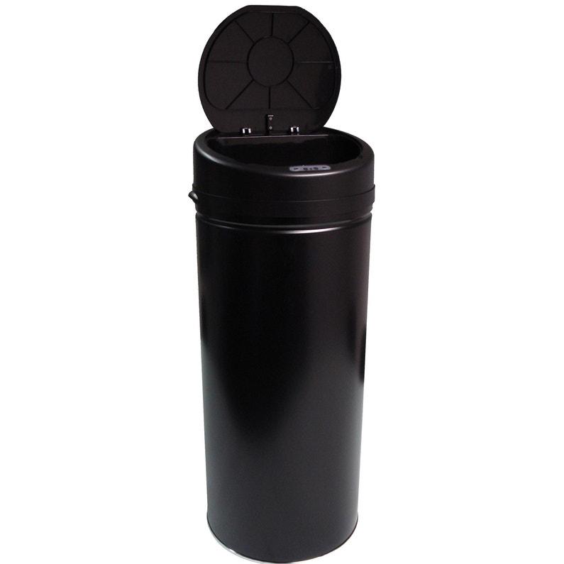 Poubelle De Cuisine Automatique Selekta Plastique Noir Mat 42 L