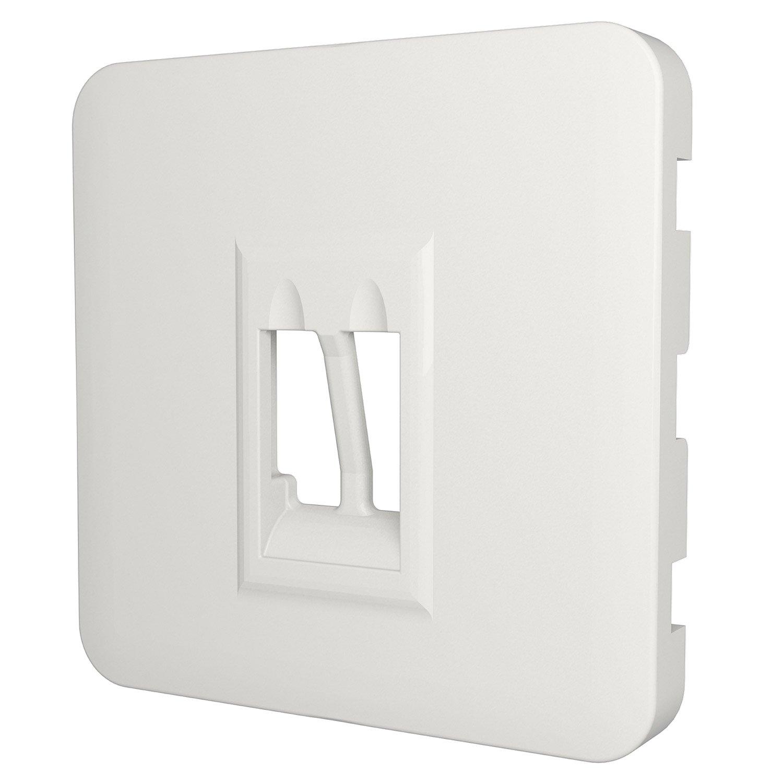 cache prise haut parleur cosy lexman blanc blanc n 0 mat. Black Bedroom Furniture Sets. Home Design Ideas