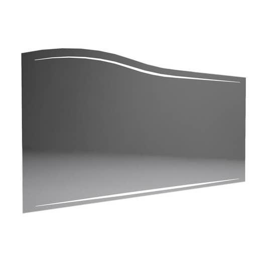 miroir avec clairage int gr l 130 cm decotec elegance. Black Bedroom Furniture Sets. Home Design Ideas