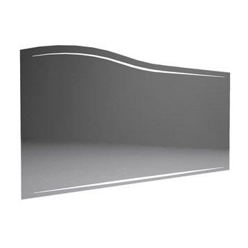 Miroir avec éclairage intégré l. 130 cm, DECOTEC Elegance