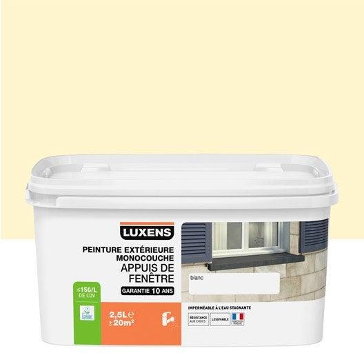 peinture appui de fen tre luxens ton pierre 2 5 l leroy merlin. Black Bedroom Furniture Sets. Home Design Ideas