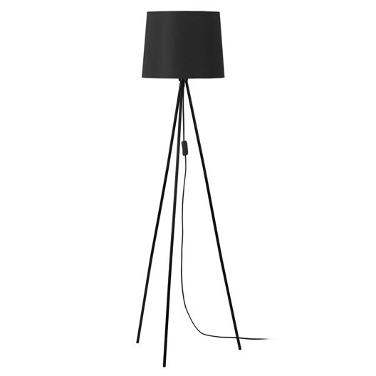 lampadaire miya 146 cm noir 60 watts. Black Bedroom Furniture Sets. Home Design Ideas