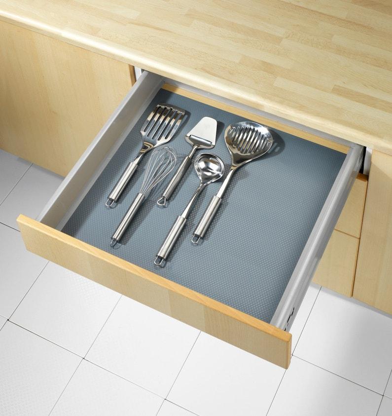 un tapis de fond de tiroir pour ranger vos couverts leroy merlin. Black Bedroom Furniture Sets. Home Design Ideas
