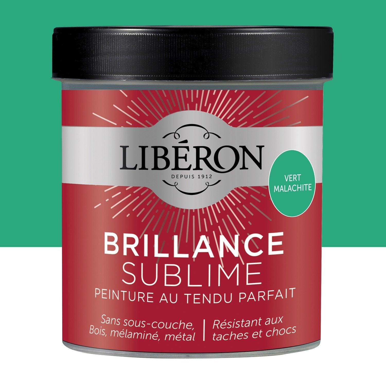 Peinture pour meuble objet et porte laqu liberon vert malachite 0 5 l leroy merlin - Peinture liberon pour meuble ...