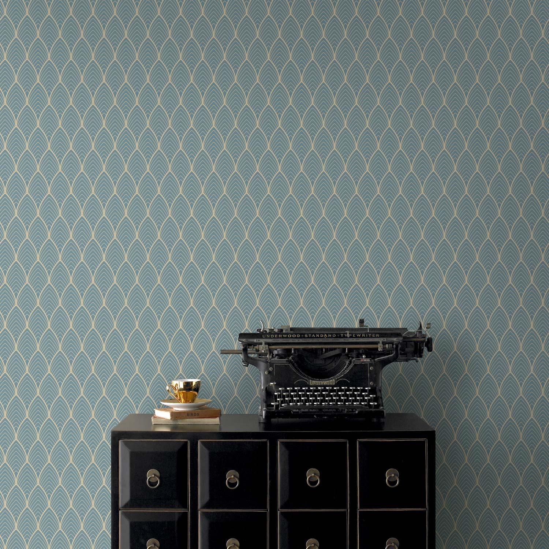 papier peint intiss bercy bleu leroy merlin. Black Bedroom Furniture Sets. Home Design Ideas