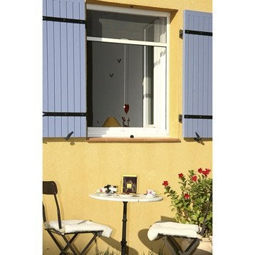 Moustiquaire pour fenêtre à enroulement vertical KOCOON H.150 x l.80 cm