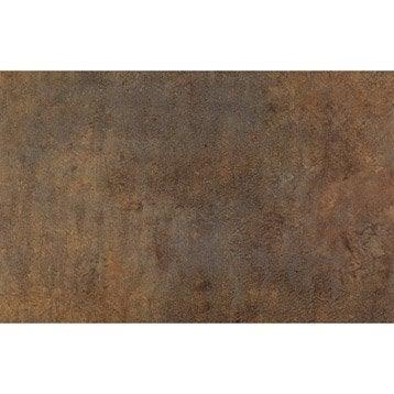 Chant de crédence stratifié Effet cuivre l.1.3 x L.500 cm