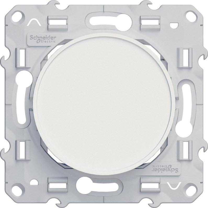 Obturateur Odace Schneider Electric Blanc
