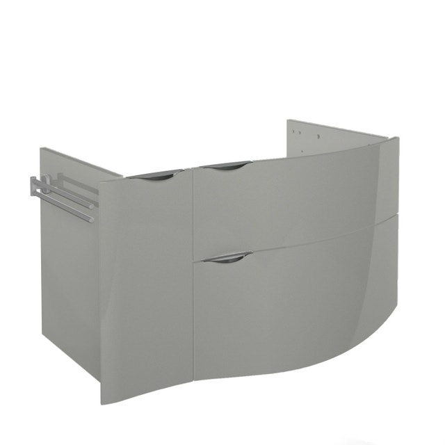 un meuble de salle de bains design l gant et pratique la fois leroy merlin. Black Bedroom Furniture Sets. Home Design Ideas
