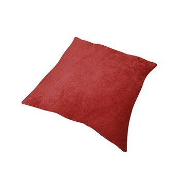 Coussin Manchester, rouge rouge n°3, 45 x 45 cm