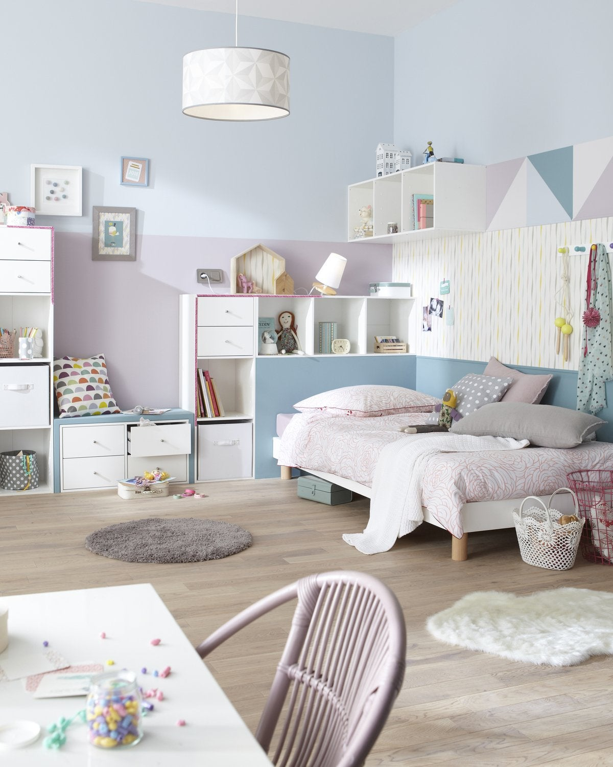 Inspiration chambre fille scandinave for Deco scandinave chambre fille ado