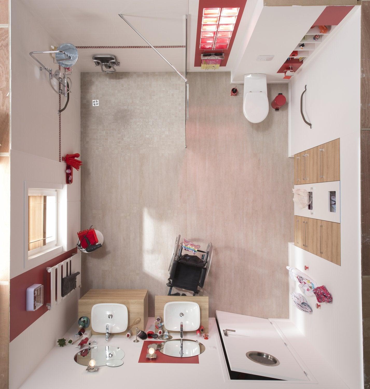 Une salle de bain adapt e au handicap leroy merlin for Creer une salle de bain prix