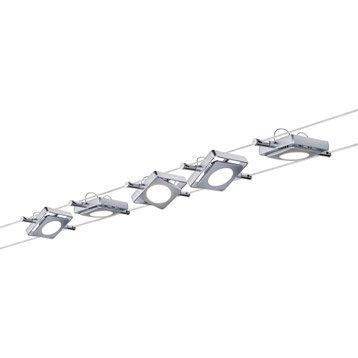 Kit câble led Macled métal Chrome mat, 5 PAULMANN