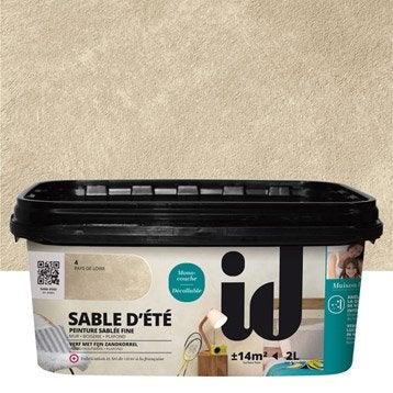 Peinture effet sabl peinture effet leroy merlin for Peinture sable precieux