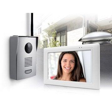 interphone et visiophone sonnette sans fil leroy merlin. Black Bedroom Furniture Sets. Home Design Ideas