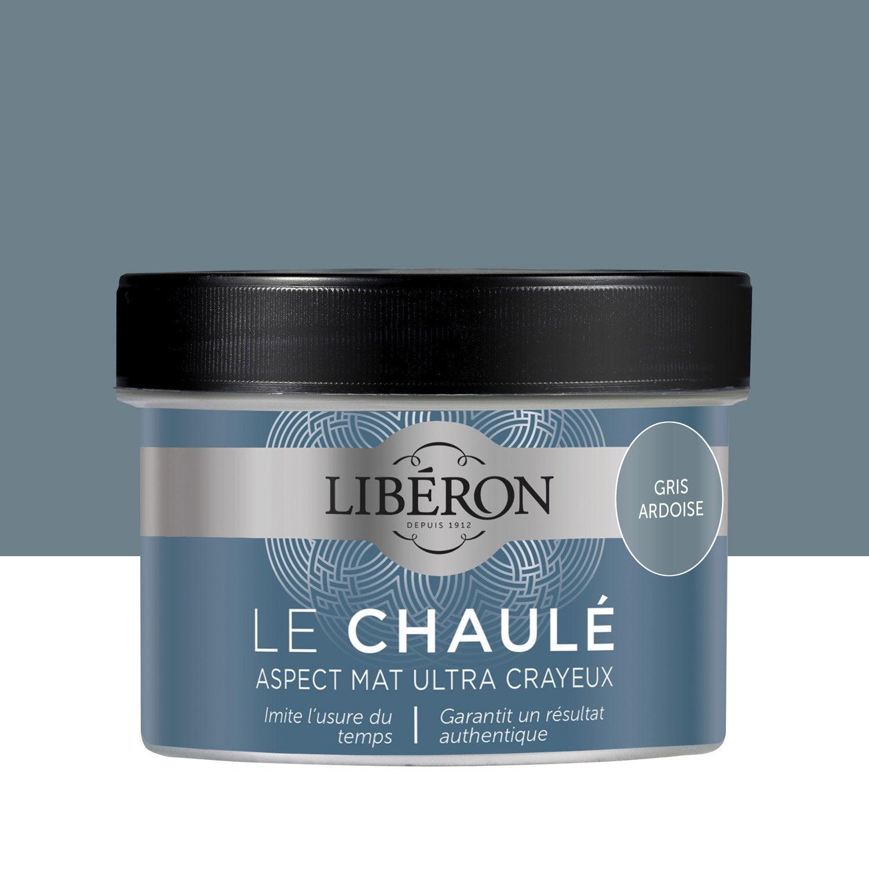 Peinture Pour Meuble Objet Et Porte Liberon Effet Chaul Gris  # Ensemble Meuble Ardoise