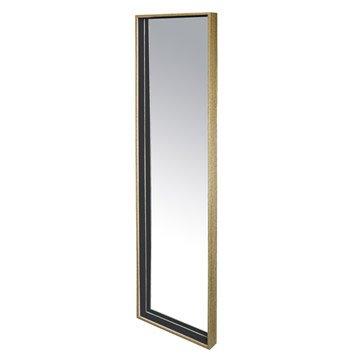 Miroir Bicolore, blanc, l.30 x H.120 cm