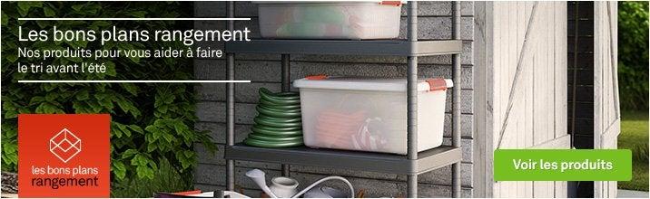 Les bons plans rangement - étagères et armoires utilitaires
