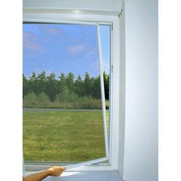 Moustiquaire pour fenêtre cadre fixe MOUSTIKIT H.150 x l.150 cm