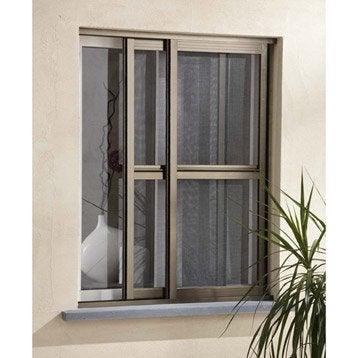 Moustiquaire et rideau de porte leroy merlin - Baie vitree pour porte de garage leroy merlin ...