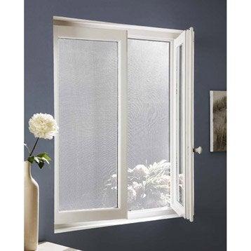 Moustiquaire pour fenêtre avec fixation auto-agrippante ARTENS H.150 x l.180 cm