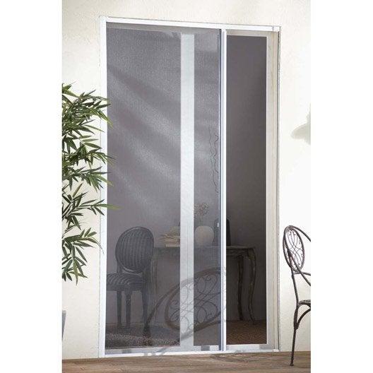 Moustiquaire pour porte fen tre enroulement lat ral - Rideau moustiquaire pour porte fenetre ...