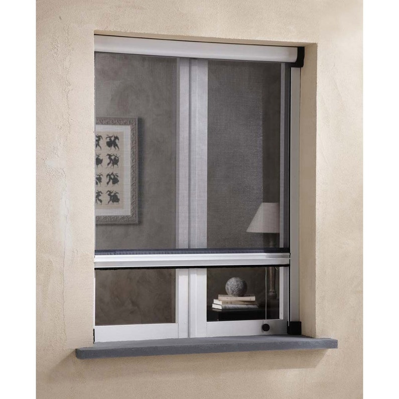 Moustiquaire Pour Fenêtre à Enroulement Vertical Artens H160 X L160 Cm