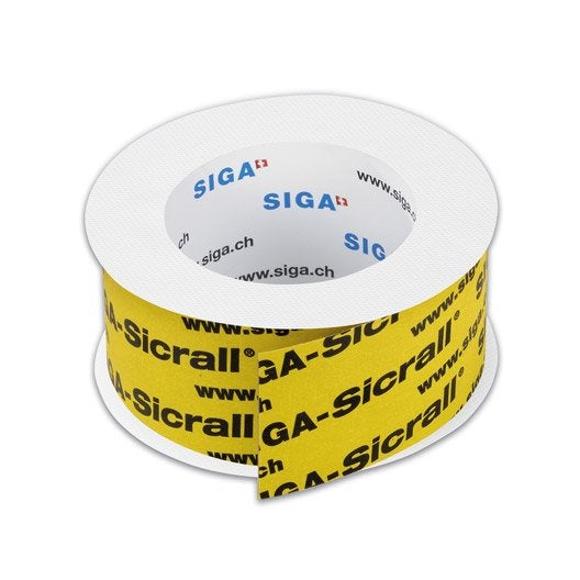 Rouleau adh sif haute qualit sicrall siga 60 mm x 15 m - Leroy merlin rouleau adhesif ...