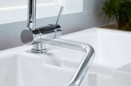 Des robinets plus intelligents leroy merlin - Robinet rabattable avec douchette ...