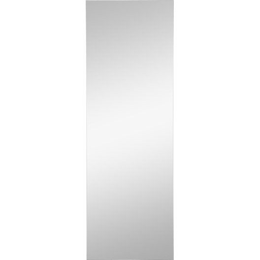 miroir rectangle poli sensea 150 x 50 cm leroy merlin