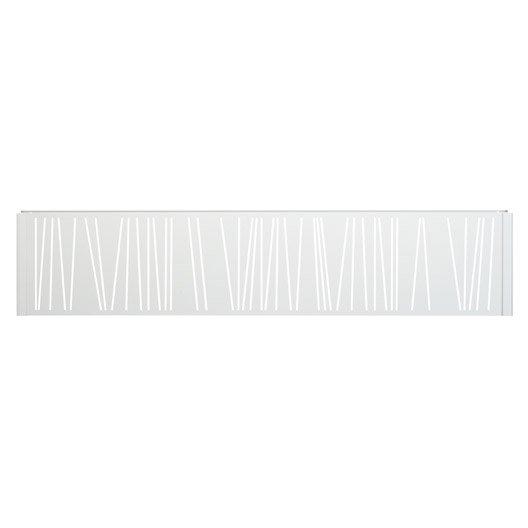 Panneau d coratif gris clair h 0 4 x l 1 9 m leroy merlin panneau bois