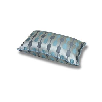 Coussin Diabolo, bleu gris, 50 x 30 cm