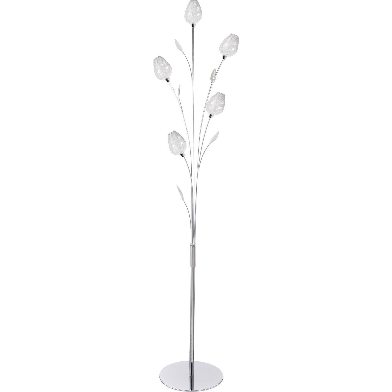 lampadaire floriane 153 cm transparent 28 w leroy merlin. Black Bedroom Furniture Sets. Home Design Ideas