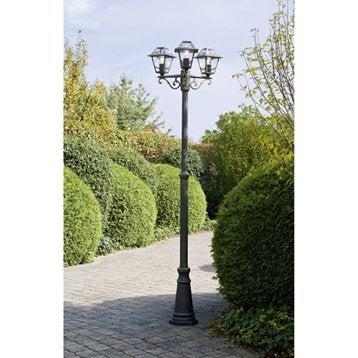 lampadaire ext rieur eclairage jardin leroy merlin. Black Bedroom Furniture Sets. Home Design Ideas