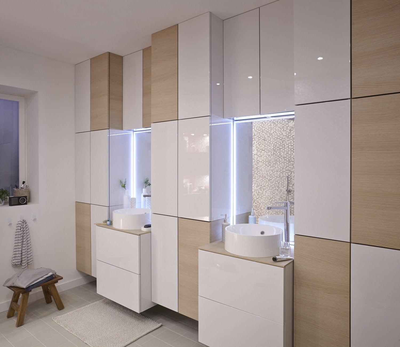 Salle de bain beige et bois fabulous salle de bain beige for Salle bain gris beige