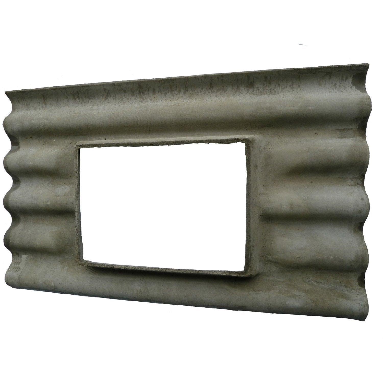 Plaque ondul fibrociment gris callibo calliprofil plaque a chassis gris 5 onde leroy merlin - Plaque fibro ciment brico depot ...