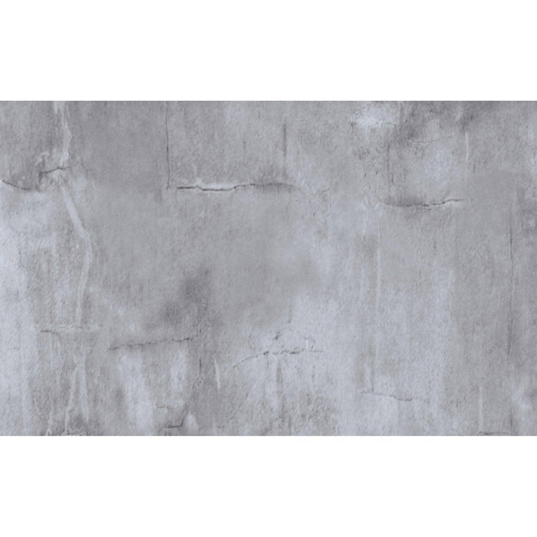 Film Adhesif Pour Placage De Porte Decoratif Decor Beton Cire L220 X L90 Cm
