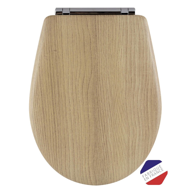 abattant frein de chute d clipsable miller oak bois r ticul olfa woodclip leroy merlin. Black Bedroom Furniture Sets. Home Design Ideas