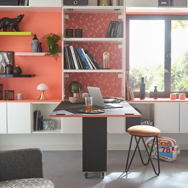 nich dans la biblioth que un bureau secr taire comme un. Black Bedroom Furniture Sets. Home Design Ideas