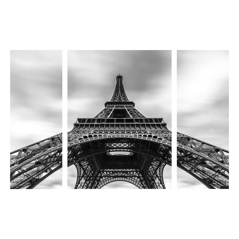 Verre Et Tour Eiffel Artis SetNoir Blanc H 80 L X Cm 120 Imprimé Iyvmb6Yf7g