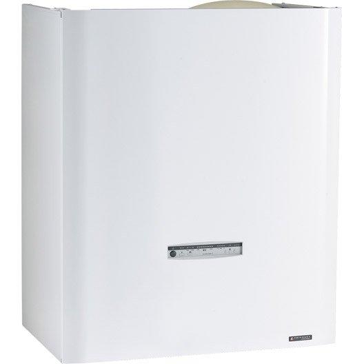 chaudi re gaz condensation accumul e frisquet hydroconfort leroy merlin. Black Bedroom Furniture Sets. Home Design Ideas
