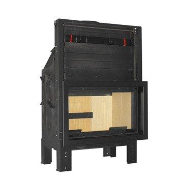 Insert avec cadre noir VESUVIO, E1000